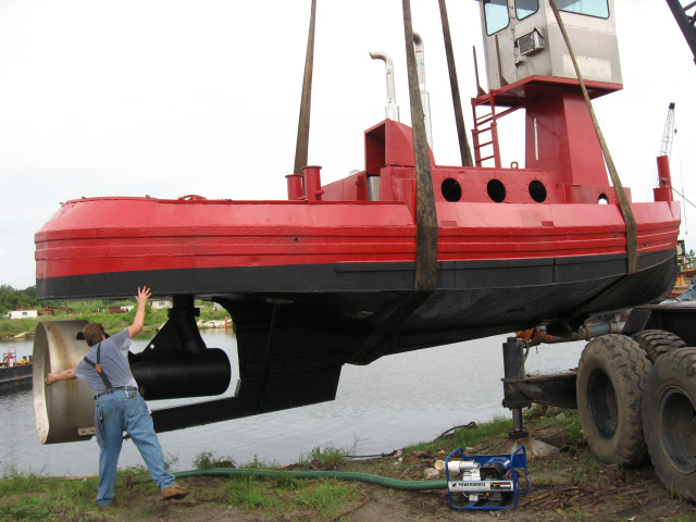 Push Boat For Sale Lease
